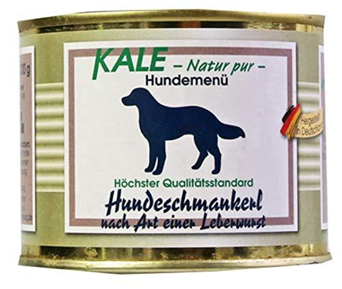 Kale Hundeschmankerl Hundefutter Nassfutter nach Art Einer Leberwurst (6 x 200 g)