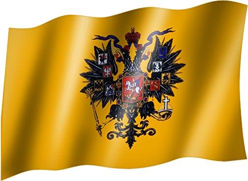 Flagge/Fahne ZAR/ZARENREICH/KAISERREICH RUSSLAND Staatsflagge/Landesflagge/Hissflagge mit Ösen 150x90 cm, sehr gute Qualität