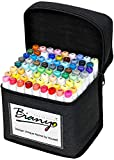 Bianyo Alcohol-Based Dual Tip Art Markers, Classic...