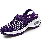 Ademend Casual Luchtkussen Slip-On Schoenen Orthopedische Wandelschoenen Womens Slipper Dames Comfy Tennis Sandalen Schokabsorberende Running Sneakers