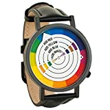 Color Wheel Art Graphic Designer Unisex Analog Watch