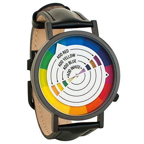 Color Wheel Art Graphic Designer Unisex Analog Watch