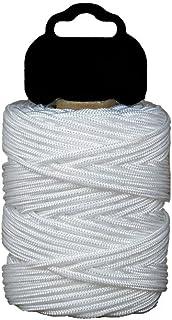 Cofan 08101011 Riel trenzado en polipropileno, Blanco, 3 mm x 50 m
