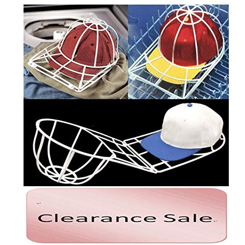 FILOL Hat Washer for Baseball Caps,Cap Washer for Dishwasher,Hat Cleaner Cage for Washing Machine,Ball Cap Washing Frame Shaper,Hat Cleaning Rack for Laundry Machine Better Than Cap Washer Bag