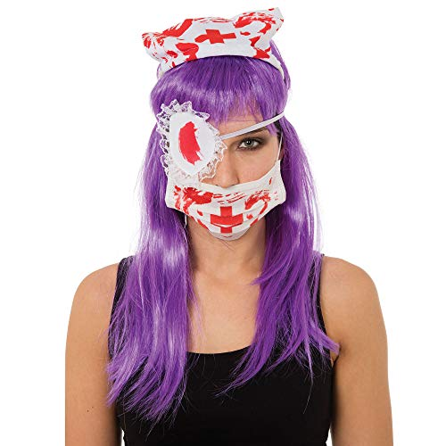 Adults Bloody Nurse Kit Halloween Fancy Dress Accessory