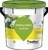 weberdeko active Idropittura traspirante semilavabile per interni, bianca, 5 lt