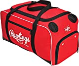 Rawlings Covert Player Duffle Bag, Royal, Scarlet (COVERT-S-RAW),