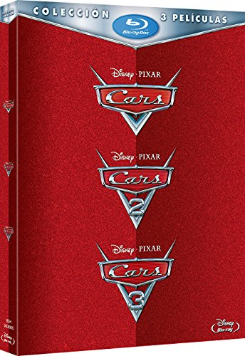 Pack: Cars 1 + Cars 2 + Cars 3 [Blu-ray]