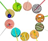 Keto Love Licks, Low Sugar Lollipops, Keto Friendly, Fun Flavors, Ten Pack Individually Wrapped By Diva Stuff
