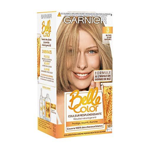 Garnier - Belle Color - Coloration permanente Blond - 03 Blond doré naturel