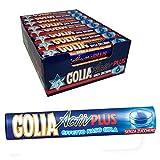 1 x CARAMELLE BALSAMICHE GOLIA ACTIVE PLUS PACCHETTO DA 34 gr MENTA GOLA