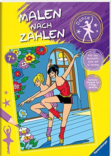 Malen nach Zahlen ab 7: Dance: Für alle Buntstift-Sets mit 12 Farben - Perfekter Malspaß mit Erfolgsgarantie