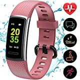 Updated Version High-End Fitness Trackers HR, Activity Trackers Health Exercise Watch with Heart