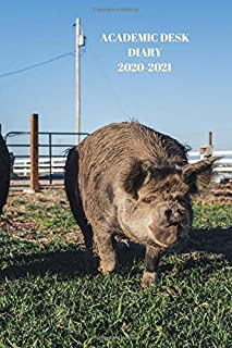 ACADEMIC DESK DIARY 2020-2021: A5 Diary Starts 1 August 2020 Until 31 July 2021. Farming. Paperback With Soft Water Repell...