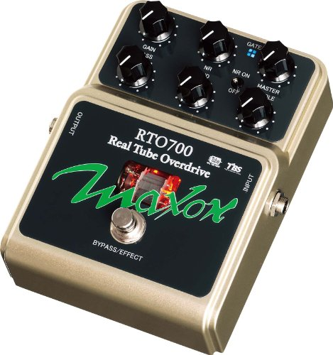 Maxon RTO700 Real Tube Series II Overdrive Guitar Effects Pedal