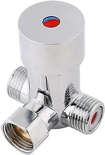 V/álvula de mezcla termost/ática de lat/ón Zerone Temperatura del agua Tuber/ía Control Termostato Control