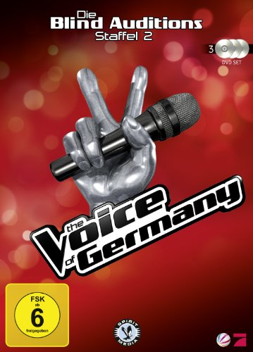 The Voice of Germany, Staffel 2 - Die Blind Auditions [Alemania] [DVD]