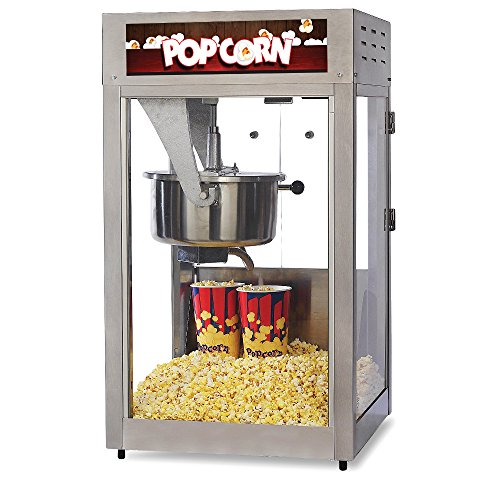 Purchase Global Solutions by Nemco GS1516 16 Ounce Popcorn Popper, Pops 320 One Ounce Servings Per H...