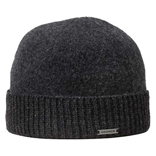 GIESSWEIN Wollmütze Agnesberg - Unisex Mütze aus 100% Lammwolle, Mütze mit Umschlag, Krempe, Seemannsmütze, Wool Beanie, Winter Mütze Damen & Herren
