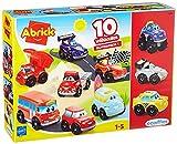 Jouets Ecoiffier – 3269 - Coffret 10 véhicules Fast Cars Abrick – Jeu...