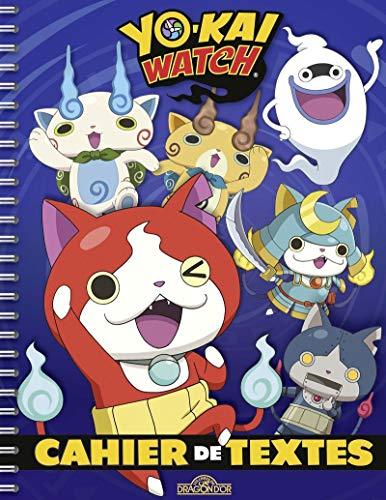 Cahier de textes Yo-kai watch