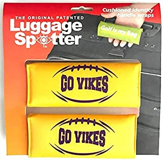- CLOSEOUT! 4-PK COLTS Luggage Spotter Suitcase Handle Wrap Bag Tag Locator with I.D BUY ONE GET ONE FREE Pocket