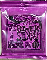 【正規品】 ERNIE BALL ギター弦 パワー (11-48) 3セット 2220 POWER SLINKY 3SET