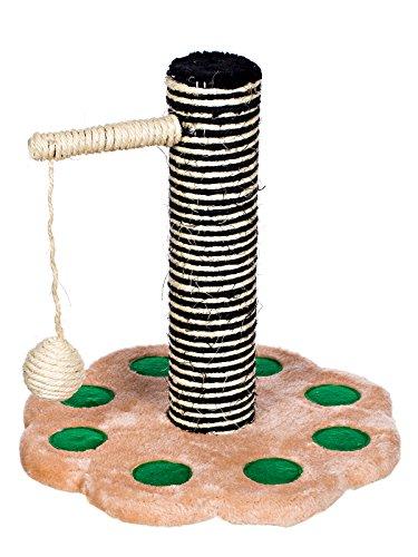 Marken Katzenspielzeug von Foffy & Friends® , Kratzbaum, Katzenbaum mit Sisal und kuscheligem Plüsch auch für unterwegs