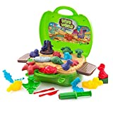 SUPRBIRD 26 Pieces Clay Dinosaur Toys Set for Kids - Dinosaur Clay Dough Tools Kit with Models and Molds – Best for Boys and Girls Age 3-12 Years Old