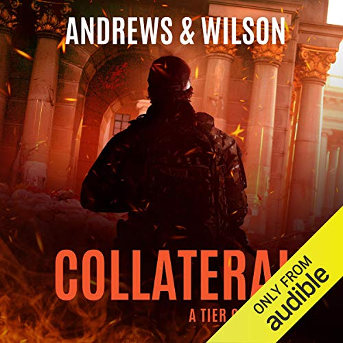 Collateral audiobook cover art