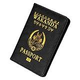 Cas de Passeport en Cuir PU de Mode Détenteur d'un Passeport Couverture de Portefeuille de Carte de crédit avec (3#)
