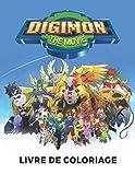 Digimon The Movie Livre De Coloriage: Livre de coloriage spécial pour...