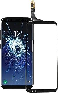 لزجاج شاشة سامسونج S8 بلس لمحول رقمي بشاشة اللمس لسامسونغ جالاكسي S8 بلس لوحة عدسات زجاجية أمامية مع بديل للمجس + أدوات إص...