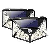 OKPOW Lámpara Solar Exterior Impermeable Iluminación Exterior Foco Solar...