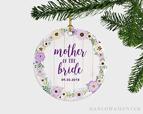 Adornos navideños de Madre de la Novia, Madre del Novio, para Abuela, Madre Regalo en el día de mi Boda