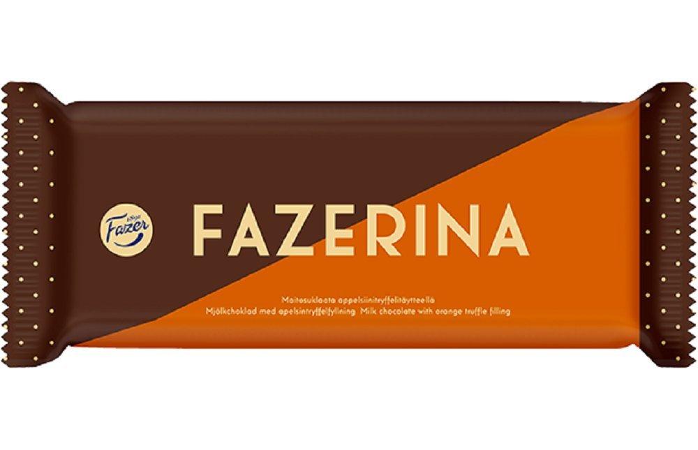 20 Bars x 100g of Fazer Milk Finnish - Detroit Mall with Chocolate Gorgeous Fazerina
