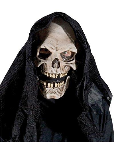 Zagone Grim Reaper Mask, Skull, Skeleton, Death