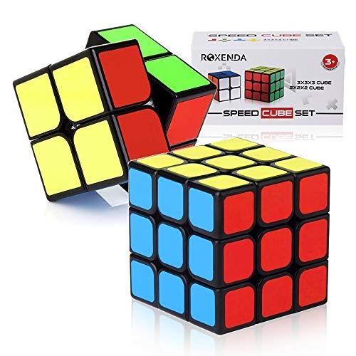 ROXENDA Cubos de Velocidad, Speed Cube Set Qiyi de 2x2
