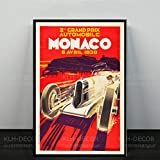 ZzSTX Leinwand Poster Und Drucke Grand Prix Von Monaco