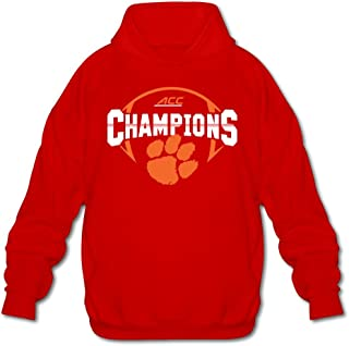 Agongda Guy CLEMSON TIGERS 2015 ACC CONFERENCE FOOTBALL CHAMPIONS Hoodie