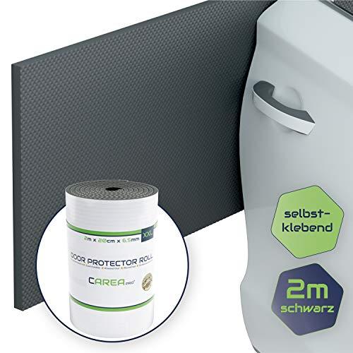 CAREApro ® Garagen Wandschutz (1er Pack 2m Lag) - Extra Stoßfest & Selbstklebend - Türkantenschutz Auto
