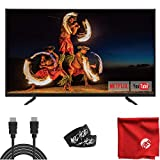 ATYME 50-Inch Smart 4K Ultra HD LED TV 2160p (500AX7UD) Lightweight Slim Built-in with HDMI, USB, VGA, High Resolution Bundle with Circuit City 6-Foot Ultra HD 4K HDMI Cable & Accessories
