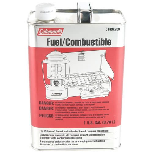Coleman Butane and Propane 1 Gallon Camping Stove Replacement Fuel