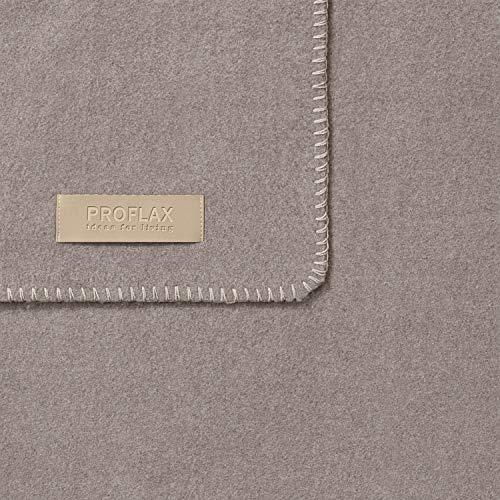 Proflax Plaid Secret | 824 Stone - 200 x 160 cm