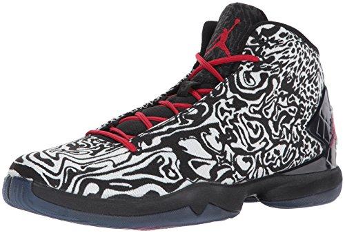 Nike Jordan Super.Fly 4 JCRD, Zapatillas de Baloncesto Hombre, Blanco/Rojo/Negro (White/Gym Red-Black-Infrrd 23), 44