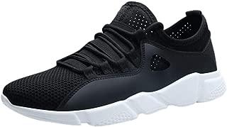 S/&H-NEEDRA Chaussure De Securit/é Homme Chaussures De Sport pour Hommes Mesh Respirant /à Lacets Baskets L/ég/ères Sneakers Mode