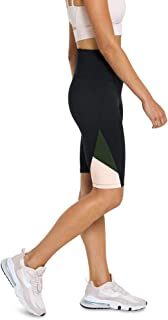 Rockwear Activewear Women's Autumn Haze Blocked Bike Short from Size 4-18 for Bottoms Leggings + Yoga Pants+ Yoga Tights