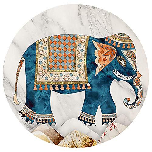 iCoCofly Pintura de diamantes 5D, pintura de diamante 5D, tamaño completo, para adultos, bordado, estrás, punto de cruz, arte para manualidades, decoración de pared principal, elefante, 30 x 30 cm