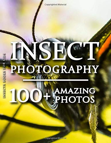 Insects Books For Kids - Insect Photography: 100+ Amazing Pictures and Photos in this fantastic Insects Photo Book (Insect Photography & Insect Books For Kids Series)