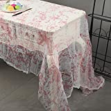 Halloween Zombie Bloody Table Cover Tablecloth for Party Decor, 60'' x 84''